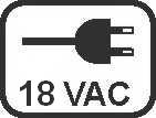 Spannung-18VAC