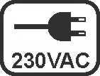 Spannung-230VAC